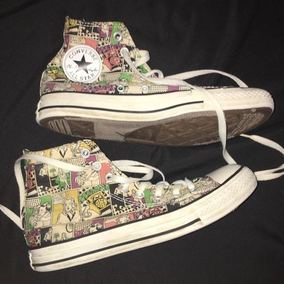 converse comic book shoes Shop Clothing & Shoes Online